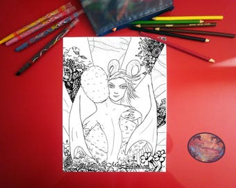 Coloring page, Coloring page for printing, coloring drawing, coloring sheet, coloring illustration, coloring ,