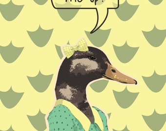 You Quack Me Up Poster