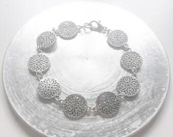 Lucky Gothic Floral Friendship Cute Halloween Bracelet Gift Christmas Girlfriend
