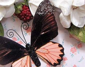 Butterfly Embellishments Coral Reef