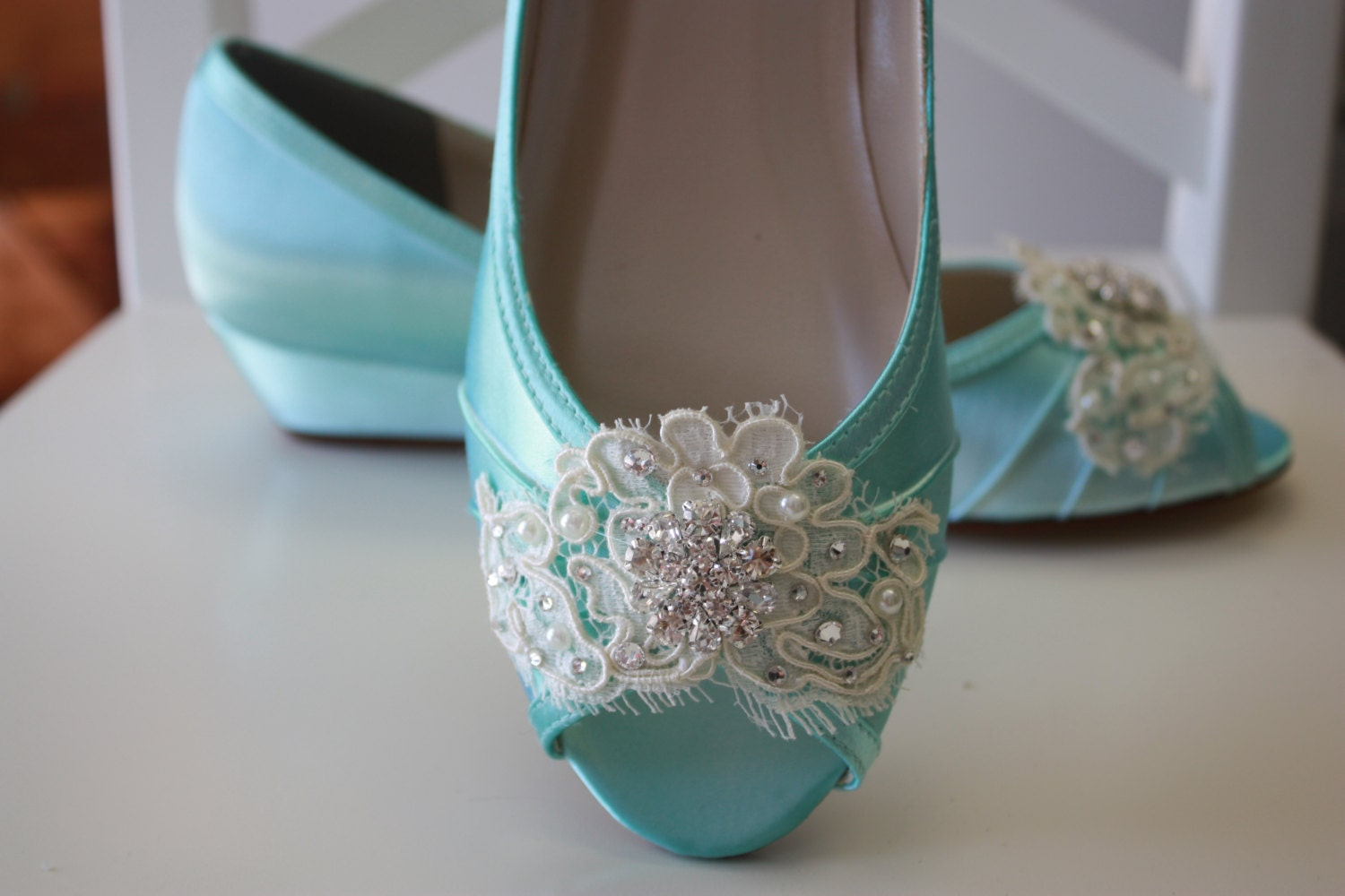Outstanding Wedge Shoes For Wedding Dress Photo - All Wedding ...