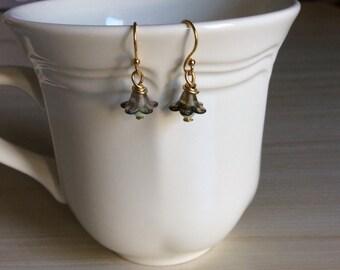 Cute Bellflower Earrings