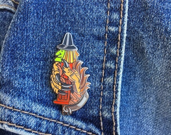 Buffy the Vampire Slayer Inspired - Pez Witch Lapel Pin Willow Rosenberg