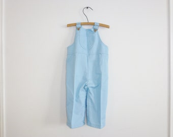 Vintage Blue Boys Overalls