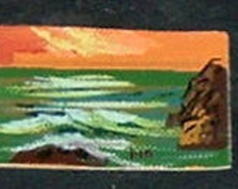 Miniature OCEAN Oil Painting  (Marilyn Stevens)