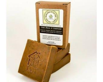 Oak Moss and Oatmeal Soap