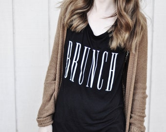 Brunch Sleeveless Tank - Black