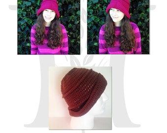 Grumpy Nova Once Upon a Time Inspired Crochet Hat Pattern for guys and gals, dwarves and fairies