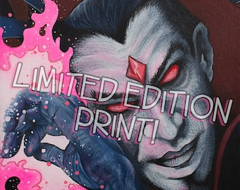 "MR.SINISTER 8"" x 10"" Archival Limited Edition Print"