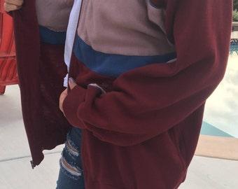 Grandpa Zip Front Sweatshirt / Track & Court