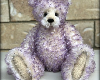 Palace mohair bear KIT - make your own 14in jointed mohair artist bear