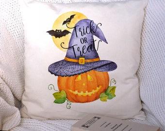 Halloween Cushion Cover, Halloween Decor, Pillow Case