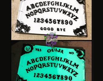 Glow In The Dark Ouija Board Necklace