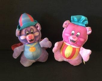 Vintage Gummi Bears TV show bouncy ball toys