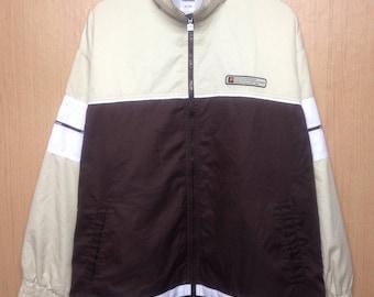 Rare !!! Vintage Ellesse Windbreaker Jacket Crewneck Pullover Original Perugia Italia Jacket