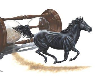 Equine Art Fin Art Print