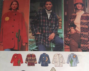 Simplicity 9287, Creative Jacket Sewing Pattern