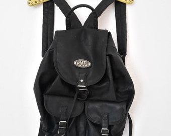 90s backpack, black