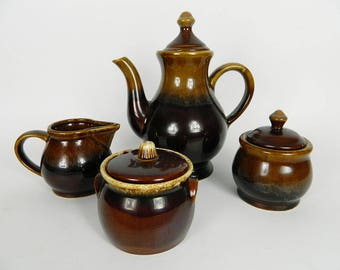 Tea set (brown color of love)