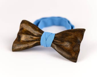 Wooden Bow Tie Wood Bow Tie Custom Bow Tie For Men Groomsmen Gift Box Brown Wooden Bowtie Anniversary Gift Groomsmen Proposal Boss Gift
