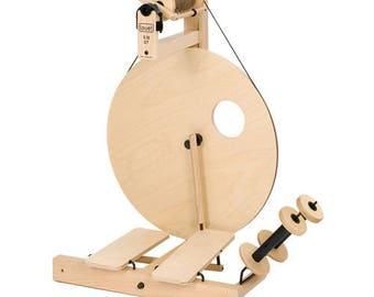 Spinning Wheels, Louet S10 Spinning Wheel, Single Treadle or Double Treadle, Art Yarn Spinning, Beginner Wheel, Production Wheel