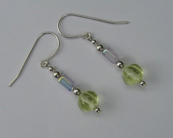 Sterling Silver Spring Colors Earrings