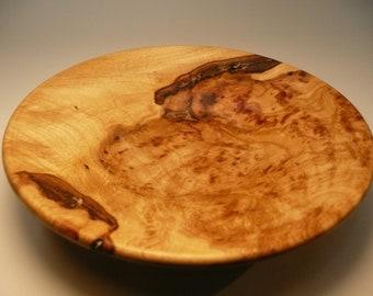 Maple burl bowl # 289