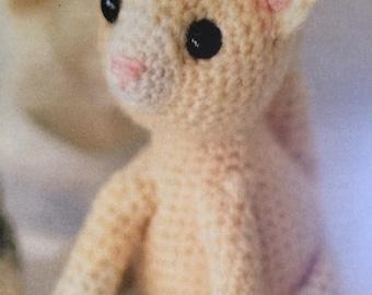 Kitten , Cat Crochet Pattern