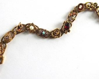 Goldette  Faux Slide Bracelet