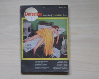 1951 DETECTIVE MAGAZINE Vol. 1 No. 1