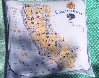 CALIFORNIA LOVE Decorative Pillow COVER