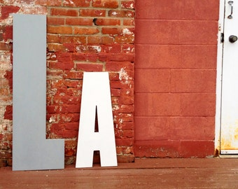 Giant Wooden Letter - 48 Inch