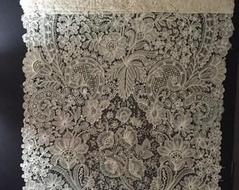 Antique hand lace Museum quality