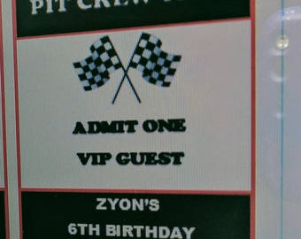 Digital Download RED Pit Crew Pass