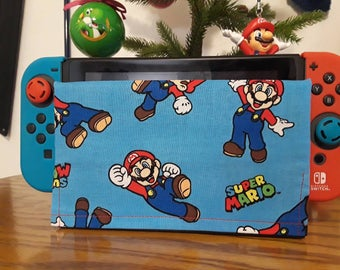 1 Nintendo switch It Up's dock sock cover sleeve screen protector new super Mario brothers