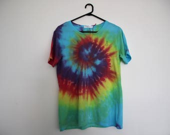 Rainbow Pineapple Dyed T-shirt