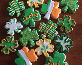 St. Patrick's Day cookies!