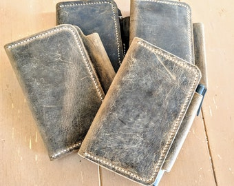 Distressed Leather Field Notes Journal Cover