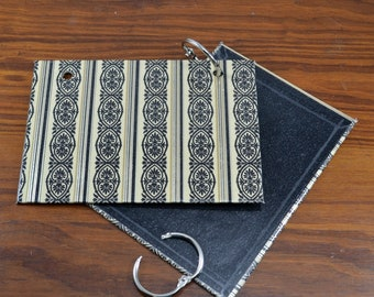 COVER and RINGS ONLY, for 3 x 5 index cards, addresses, organize recipes, bible scriptures, gift for nurses, teachers, coworker