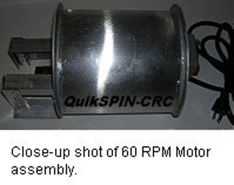 60 RPM Motor System for BBQ Grill Coffee Beans Roaster Drum