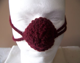 Burgundy Nose Warmer