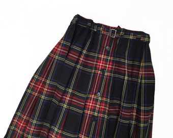 Pure New Wool Tartan Skirt