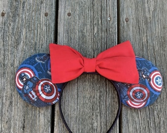 Captain America Mouse Ears