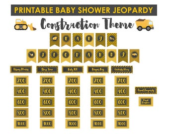 Pink baby shower jeopardy game jeopardy baby shower baby construction baby shower jeopardy game jeopardy baby shower baby shower games printable solutioingenieria Images