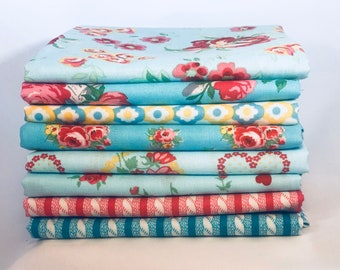 Love and Friendship, 1/4 Yd., Bundle of 8 by Verna Mosquera,