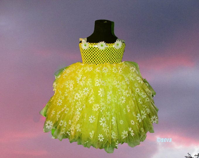 Princess Daisy Couture Tutu Dress