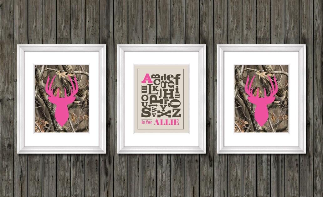 Amazing Girls Nursery Decor Pink Camo Nursery Decor Personalized