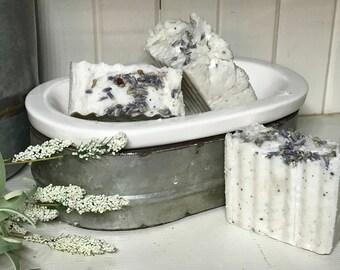 Vintage Lavender and Lemon Natural Guest Soap