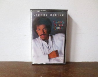 Vintage 1984 Lionel Richie, Dancing on the Ceiling Cassette Tape
