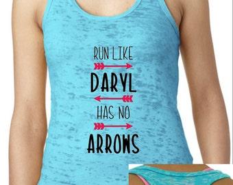 Run Like Daryl Has No Arrows - The Walking Dead Tank (Burnout)
